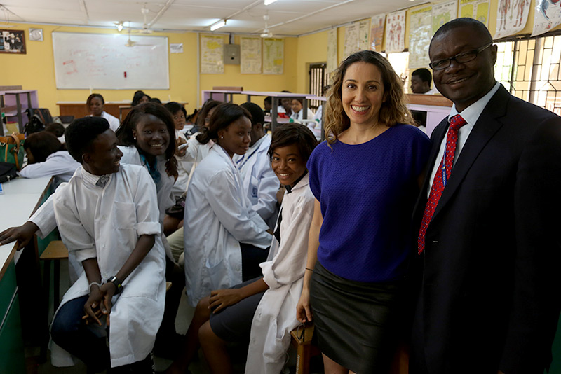 Iranian-born Pardis Sabeti leads the race against Ebola