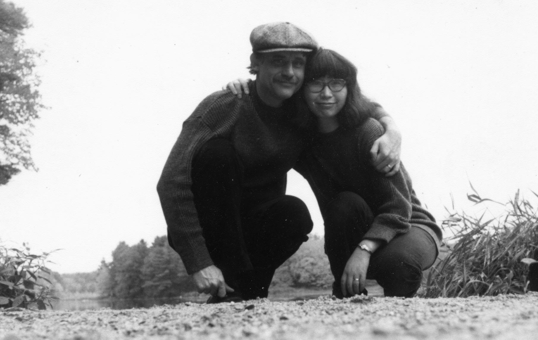 Dai Sil Kim-Gibson pictured with her late husband Don Gibson.