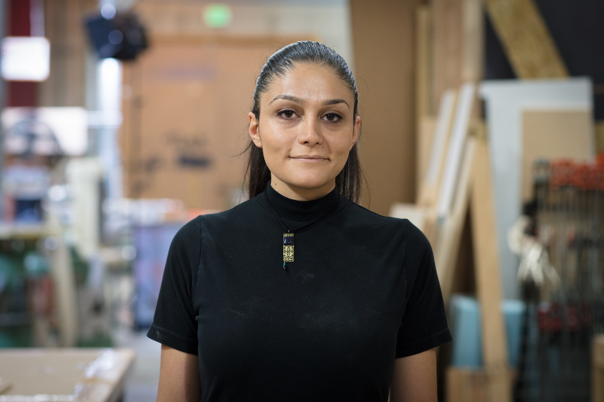 Creative Promise Prizewinner Mona Ghandi