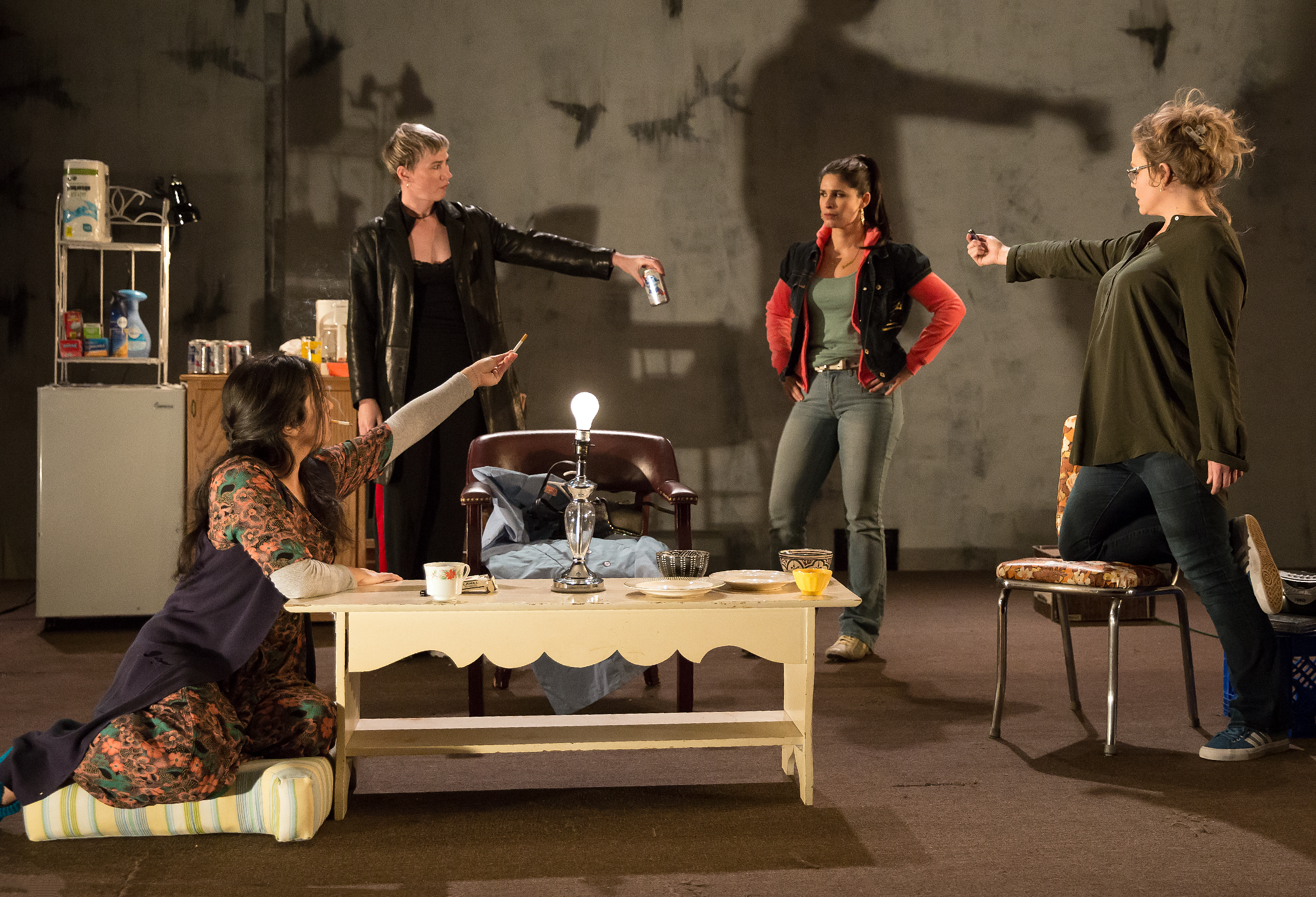 Photo from the Lincoln Center Theater production of Martyna Majok's