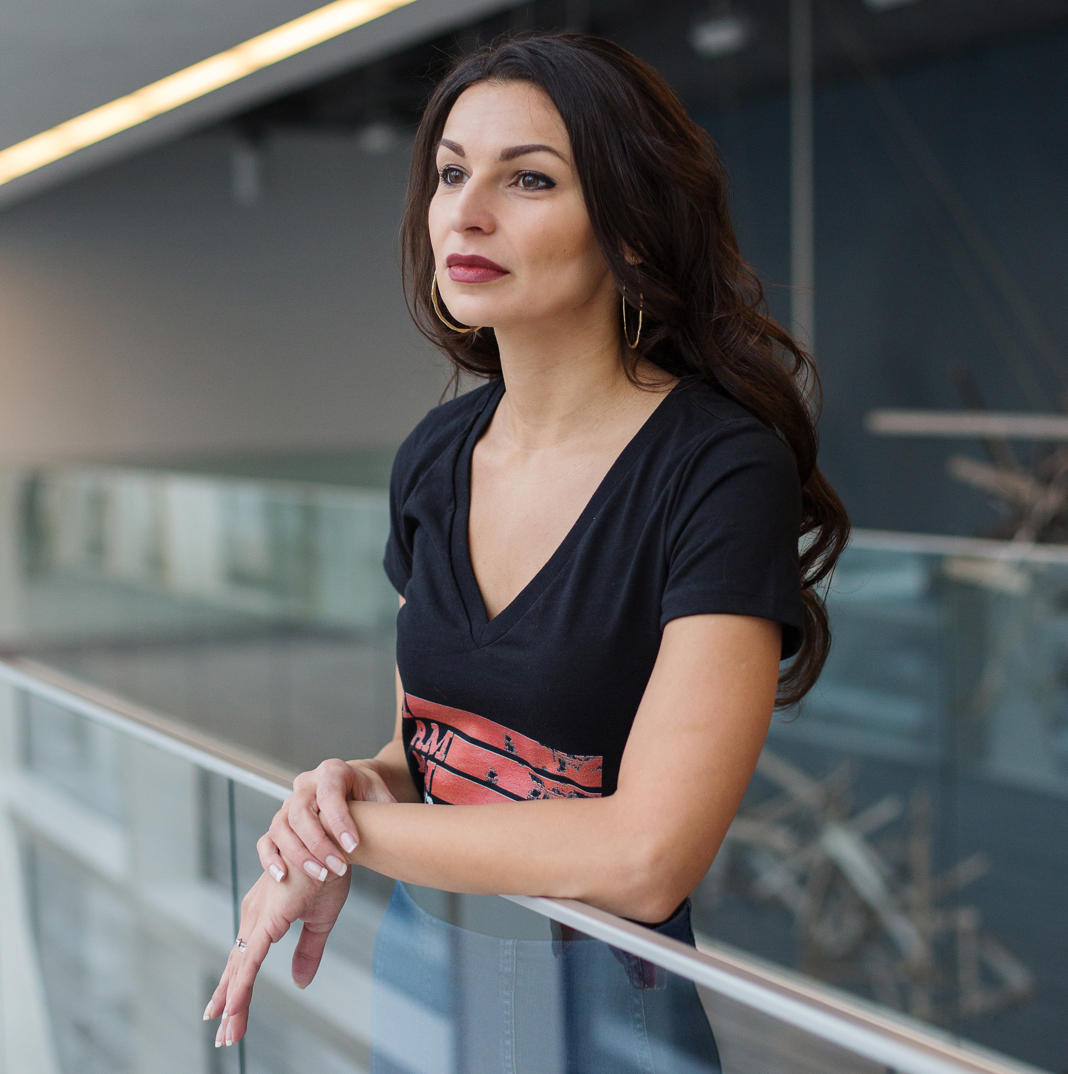 Headshot of Polish-born playwright Martyna Majok, winner of the 2018 Pulitzer Prize.