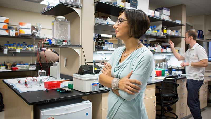 Houra Merrikh, Vilcek Prize for Creative Promise in Biomedical Science winner.