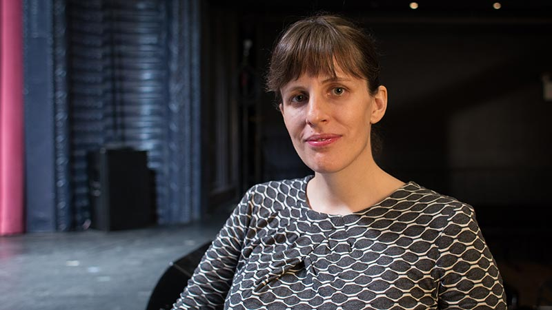 Sarah Benson, Vilcek Prize for Creative Promise in Theatre winner.