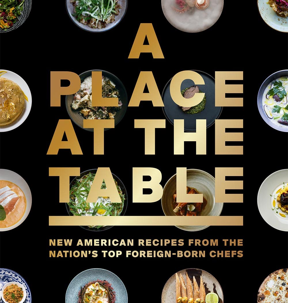 A Place At The Table cookbook cover.