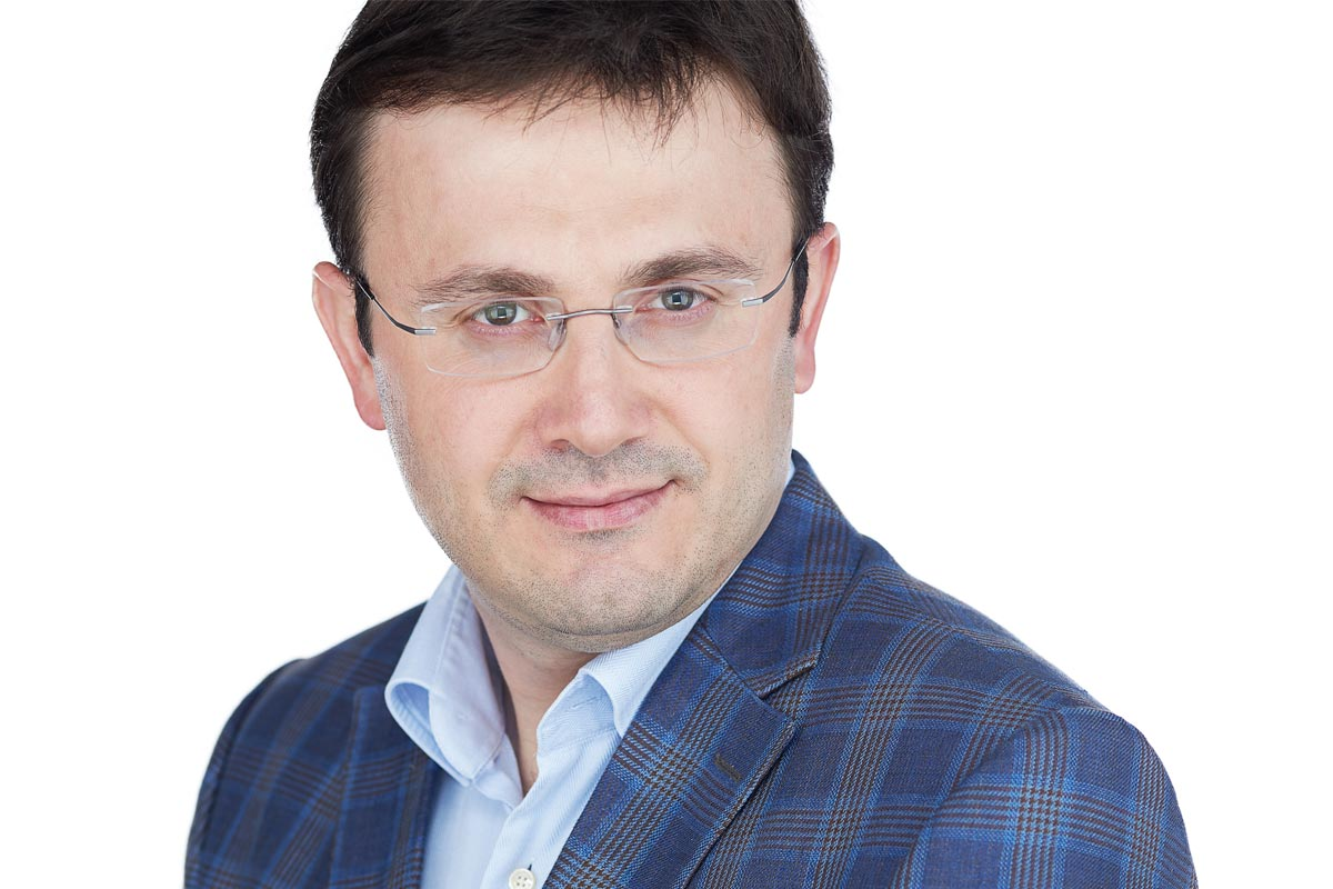 Portrait of Ahmet Yildiz
