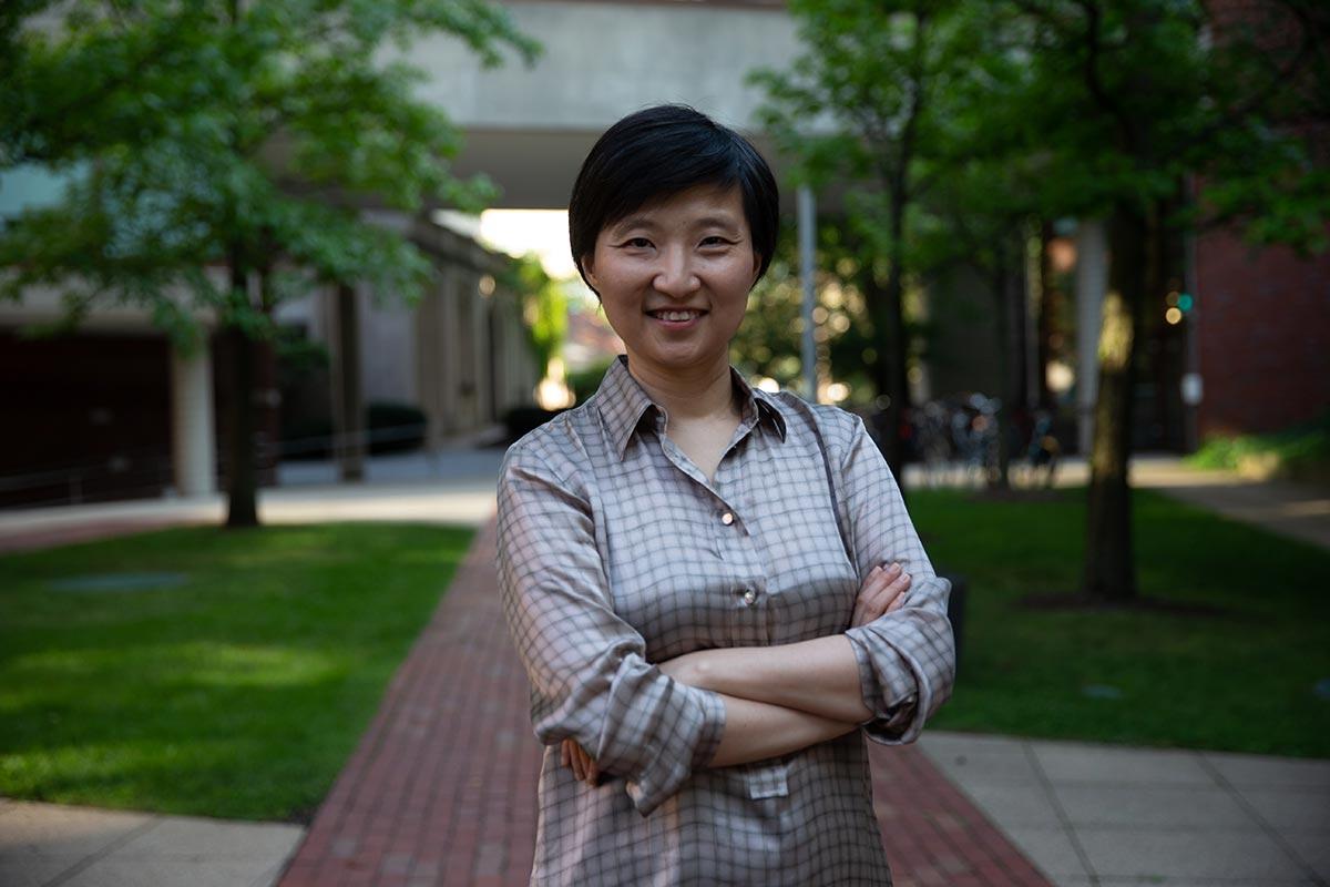 A photo of Xiaowei Zhuang at Harvard University