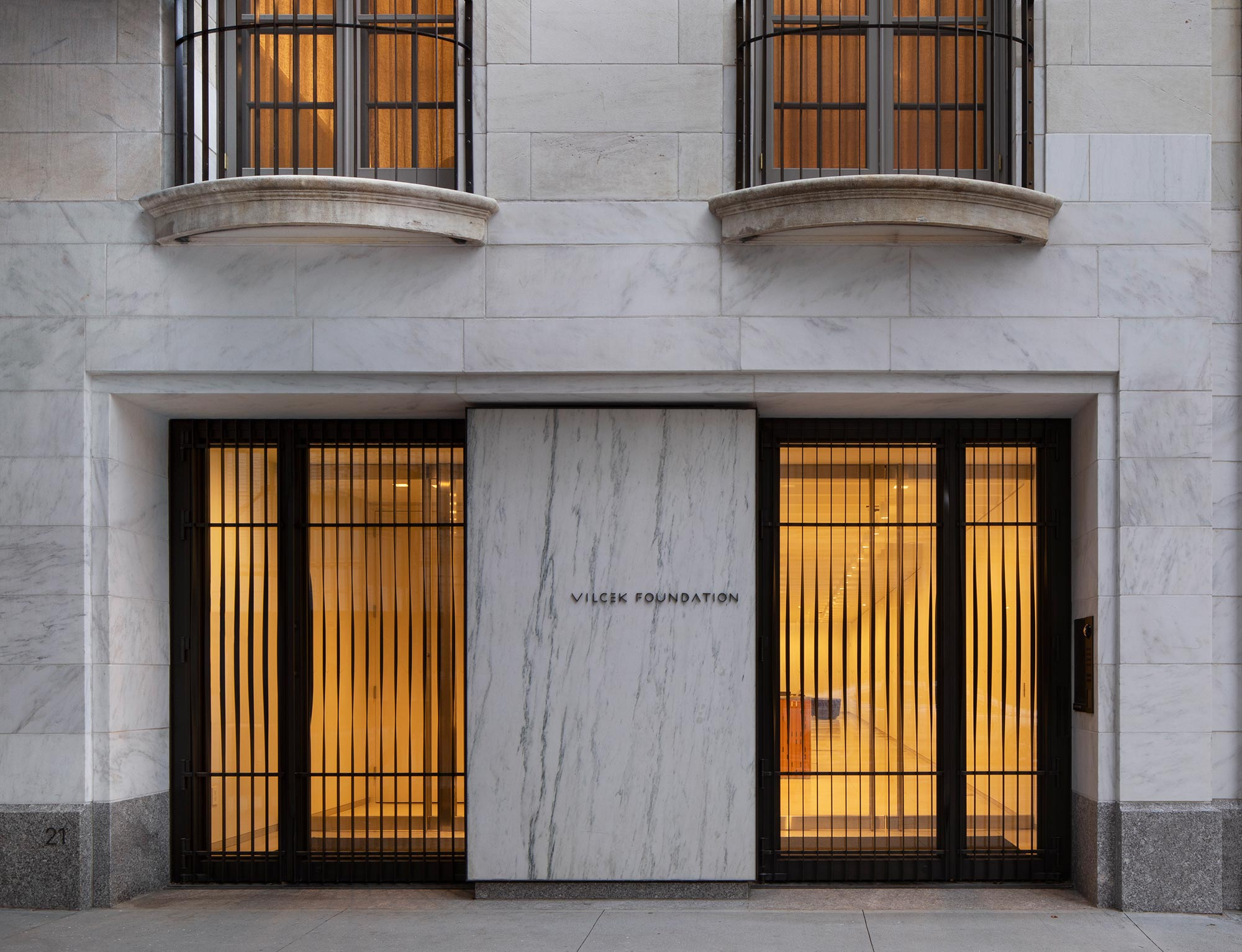 The Vilcek Foundation headquarters in New York City