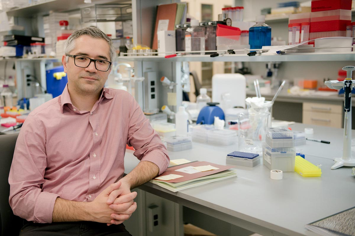 Kivanc Birsoy is the head of Birsoy lab at Rockefeller University