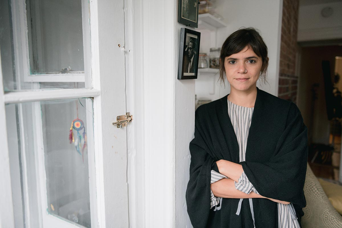 Valeria Luiselli at her home in New York.