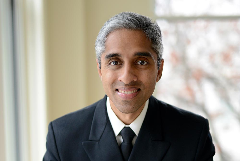 A portrait of Vivek Murthy