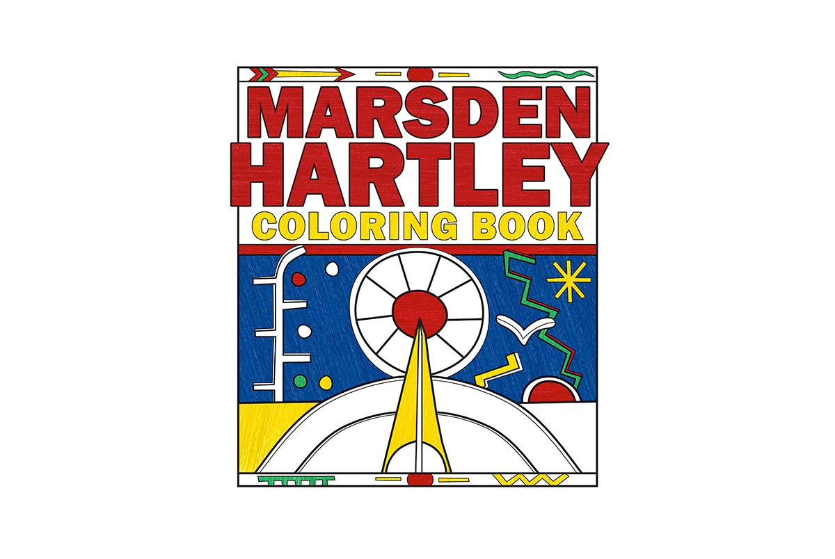 Coloring Book Inspired by Marsden Hartley