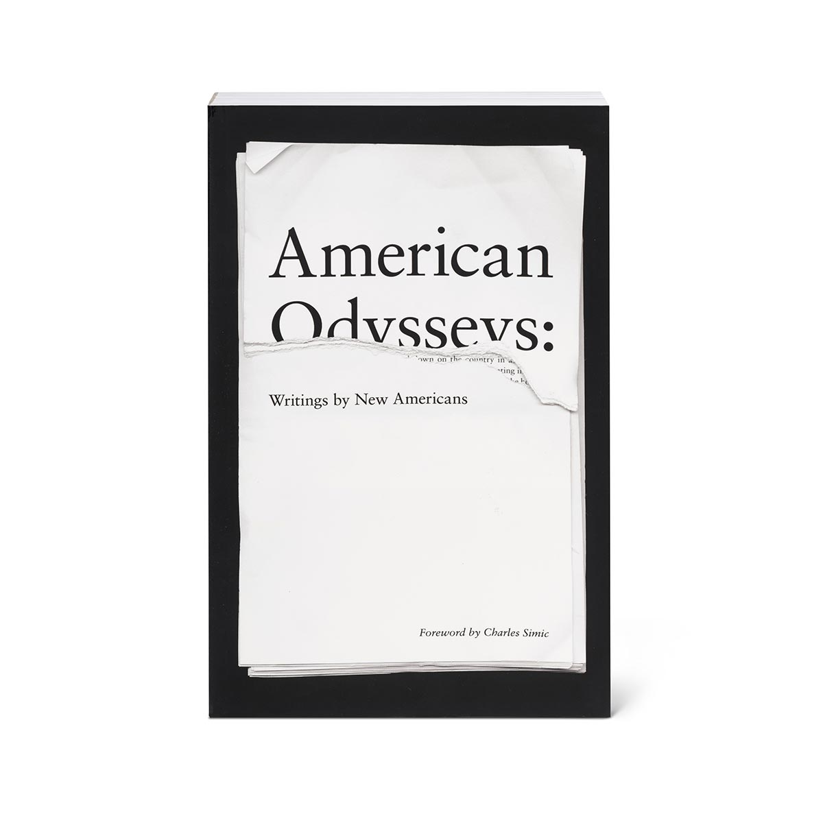 American Odysseys: Writings by New Americans