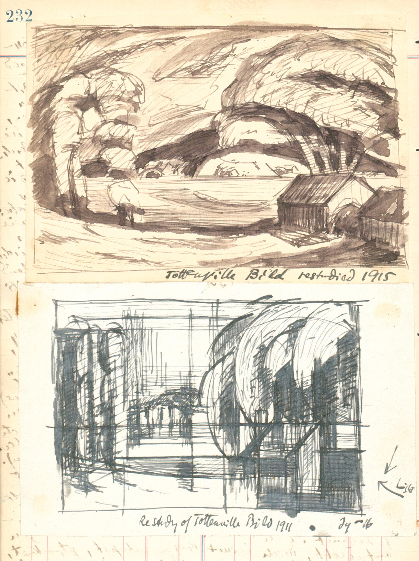 Sketches and notes for Perth Amboy West (Tottenville)