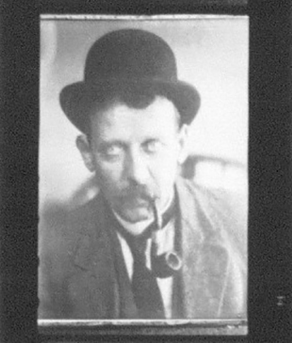 An image of Oscar Bluemner from negative photograph strips, circa 1930s.