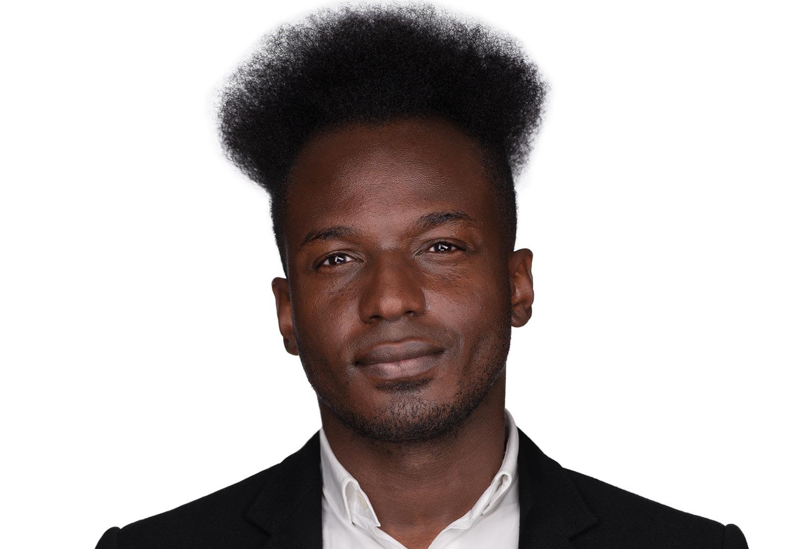 Portrait of Ibrahim Cissé