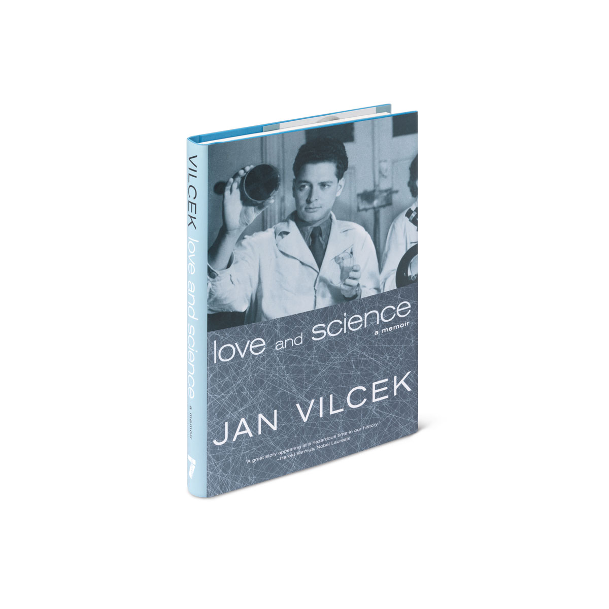 Love & Science by Jan Vilcek book cover and spine