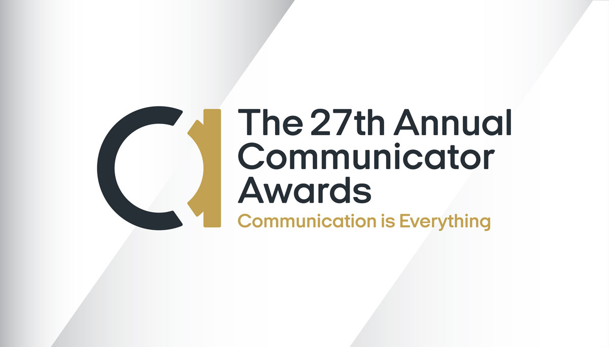 The 27th Annual Communicator Awards banner image.