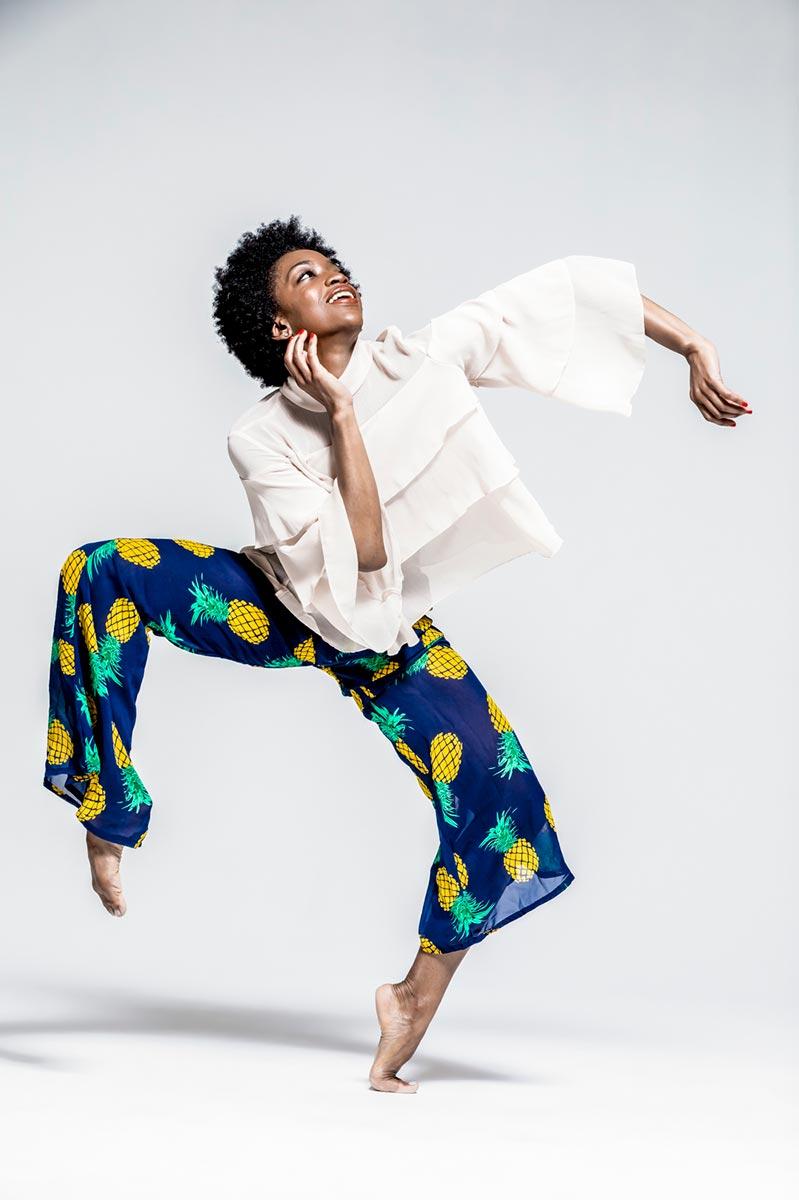 Photo of Tamisha Guy performing